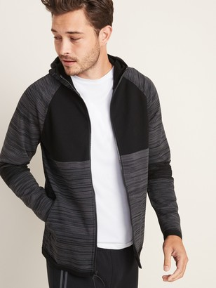 Old Navy Sweater-Knit Zip Performance Hoodie for Men