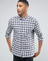 Esprit Regular Fit Long Sleeve Brushed Check Shirt