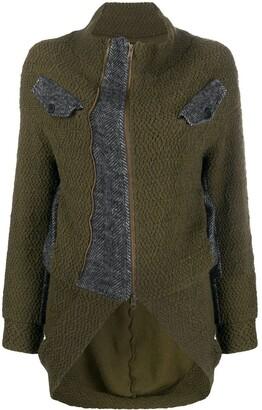 Yohji Yamamoto Pre Owned 1990s Ys woven tail jacket