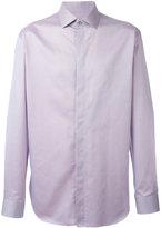 Giorgio Armani concealed fastening shirt - men - Cotton - 39