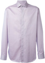 Giorgio Armani concealed fastening shirt - men - Cotton - 42