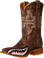 Tin Haul Shoes Men's Gnarly Shark Western Boot