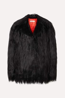 Philosophy di Lorenzo Serafini Faux Fur Coat - Black