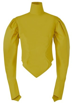 Thebe Magugu Sulphur blouse