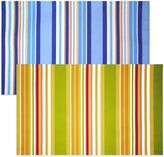 Bed Bath & Beyond Mystic Stripe Reversible Placemat in Blue