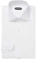 Tom Ford Solid Spread Collar Dress Shirt
