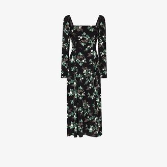 Reformation Sigmund floral midi dress