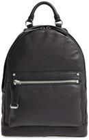 Frye Natalie Moto Leather Backpack