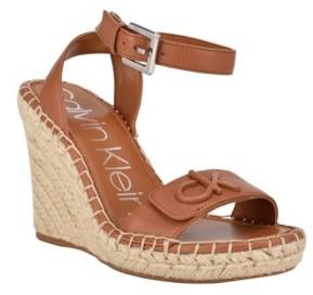 Calvin Klein Women's Karla Open Toe Sandals Women's Shoes