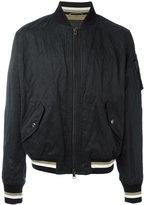 Ermanno Scervino striped detail bomber jacket