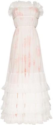 Giambattista Valli Strapless Tulle Gown
