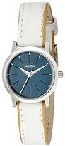 Nixon Women's A398321 Kenzi Leather Analog Display Analog Quartz White Watch
