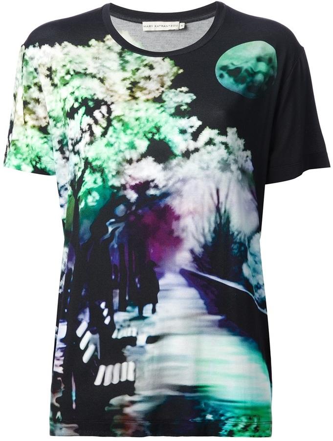 Mary Katrantzou 'Wisherman' printed t-shirt