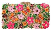 Fawziya Butterflies And Flowers Clutch Purses For Womens Purses And Handbags