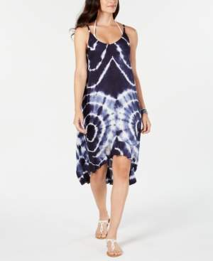 Raviya Tie-Dyed High-Low Cover-Up Dress Women's Swimsuit