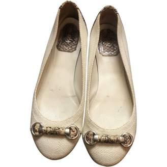 Christian Dior Beige Cloth Ballet flats