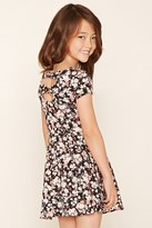 Forever 21 FOREVER 21+ Girls Floral Dress (Kids)