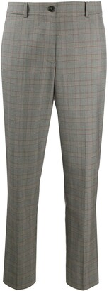 Tommy Hilfiger Cropped Tartan Trousers