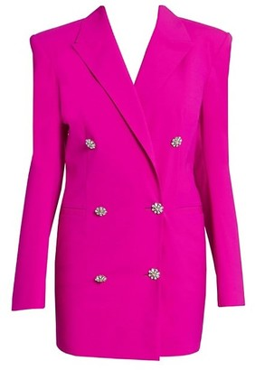 ATTICO Double-Breasted Blazer Dress