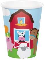 Creative Converting 8ct Farm Fun Cups