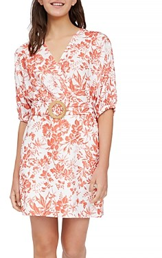 Lucy Paris Floral Belted Sheath Dress - 100% Exclusive