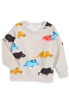 Mini Rodini Infant Boy's Mr. Mouse Sweatshirt