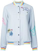 Mira Mikati embroidered bomber jacket - women - Acetate/Viscose - 38