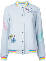 Mira Mikati embroidered bomber jacket - women - Viscose/Acetate - 38