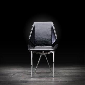 Orren Ellis Orlandi Upholstered Dining Chair (Set of 2