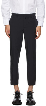 Neil Barrett Navy Nylon Cuff Trousers