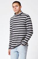 PacSun Brick Striped Long Sleeve Turtleneck T-Shirt