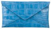 Michael Kors Leather Envelope Clutch