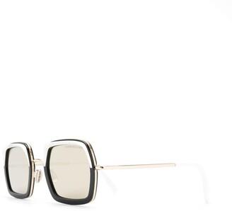 Cutler & Gross Square Frame Sunglasses