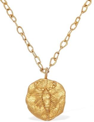 ÀCHEVAL PAMPA Scorpio Charm Long Necklace