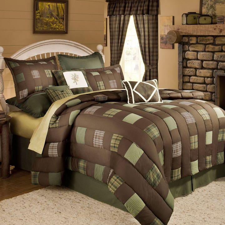Bed Bath & Beyond Cabela's Barnwood Patch Comforter Set