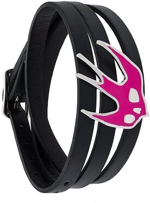 McQ Triple Strap Swallow Bracelet