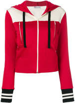 RED Valentino two-tone hooded jacket