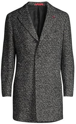 Isaia Classic Wool-Blend Coat