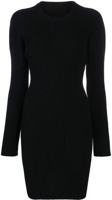 MM6 MAISON MARGIELA Rib-Knit Dress