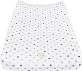 Burt's Bees Baby Organic Jersey Changing Pad Cover - Fog