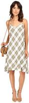 Kensie Rayon Plaid Dress KS7K7110