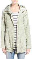 Sam Edelman Hooded Drop Tail Utility Jacket