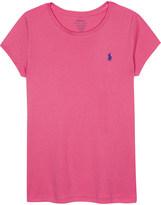 Ralph Lauren Logo cotton & modal T-shirt 7-14 years