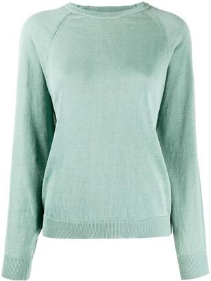 Peserico Long Sleeve Ribbed-Knit Sweater