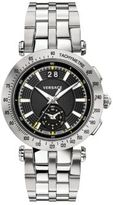 Versace V-Race Sport Stainless Steel Five-Link Bracelet Watch