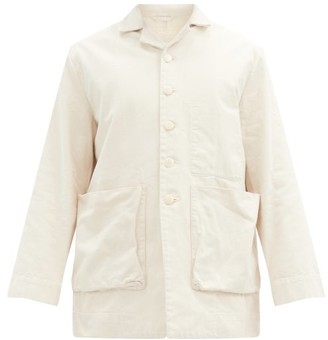 Toogood The Photographer Cotton-canvas Jacket - White