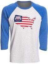 USA Swimming Unisex Liberty Raglan TShirt - 8147085