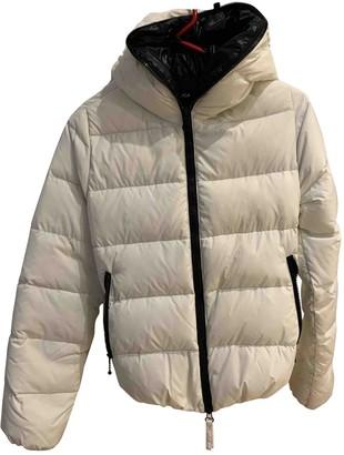 Duvetica White Polyamide Coats
