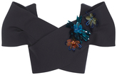 DELPOZO M'O Exclusive Embellished Sleeveless Bow Top