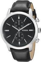 Fossil Men's FS4866 Townsman Analog Display Quartz Watch